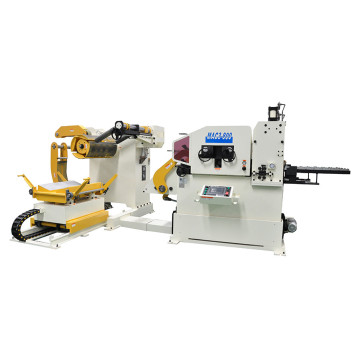 Decoiler Straightener NC servo Feeder للخط الصحافة