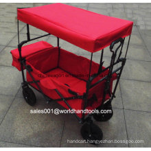 Four Wheels Folding Cart with Canopy