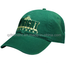 Mode gewaschen Baumwolle Twill Stickerei Golf Baseball Cap (TMB6274)