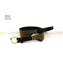 Girdle Fashion PU Belt with Studs (KY5389)