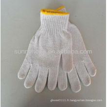 Gants de travail tricotés