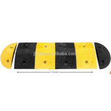 heavy strength rubber speed hump used on road with size 1000*350*45mm