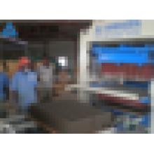 QFT10-15 Linha de Produção de Tijolos Automáticos de Lodo Motora Siemens