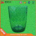 La venta caliente colorida imitó el plástico de la taza cristalina