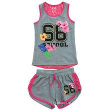 Kinder bedruckte Kleidung, Baby-Anzug für Sommer SGS-102