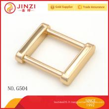 2015 nouveautés accessoires en métal doré brillant pour sacs à main