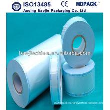 rollo de película plástica disponible para uso médico