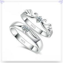 Joyería cristalina joyería de la plata esterlina del anillo 925 de la manera (CR0005)