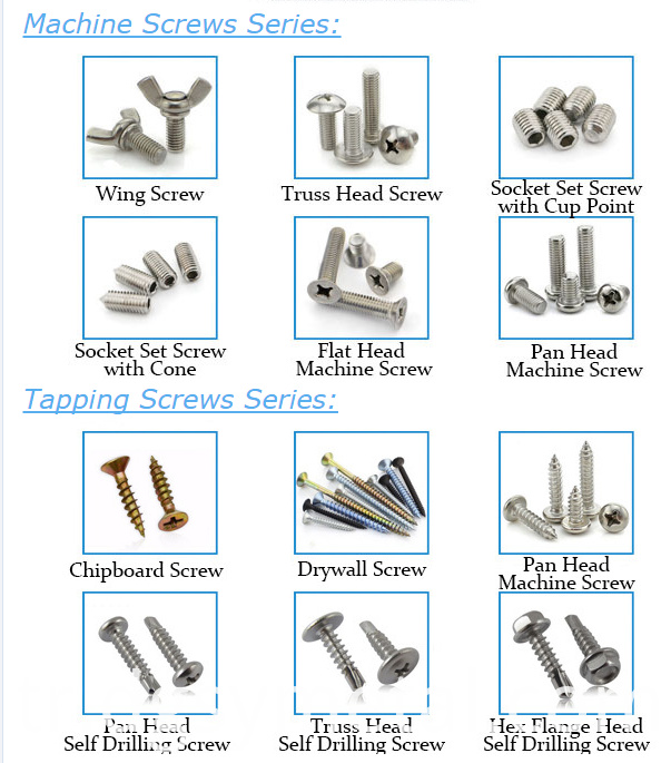 screws&bolts&nuts