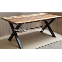 Recycled Wooden Table