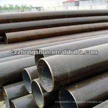 Tuyau en acier inoxydable sans soudure de qualité supérieure / ms tubes ronds poids