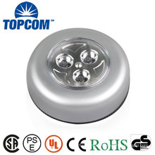 Plastic Body Touch LED Lamp Roundness Type 3 LED Touch Lamp