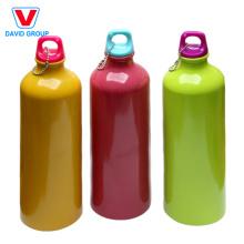 Botella de agua deportiva de aluminio promocional de 500 ml