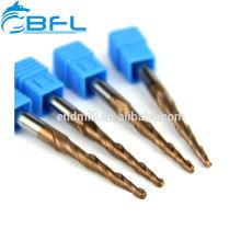 BFL-Kegelstirnfräser zum Schnitzen von Holz / Wachs / Hartholz
