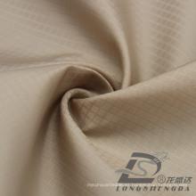Resistente al agua y al aire libre ropa deportiva Chaqueta de tela tejida tela de galleta Jacquard 100% filamento de tela de poliéster (53109)