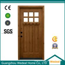 Personnaliser l'usine en bois d'intérieur de chambre de porte d'artisan