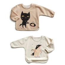 Top-Fabrik-heiße Verkaufs-Baby-Kleidung, Baby-Strickjacke mit organischer Baumwolle