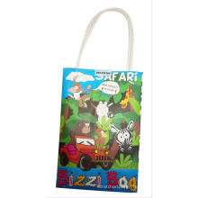 gift and craft,with crayon gift christmas bag painting paper bag