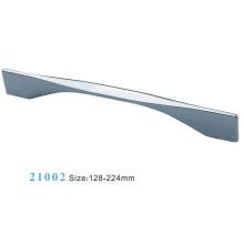 Poignée d'armoire de meuble en alliage de zinc (21002)