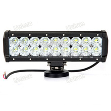 "Factory 12V Waterproof 10.5"" 54W LED Light Bar"