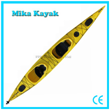 Ocean Plastic Kayak Avec Pedales for Two Person