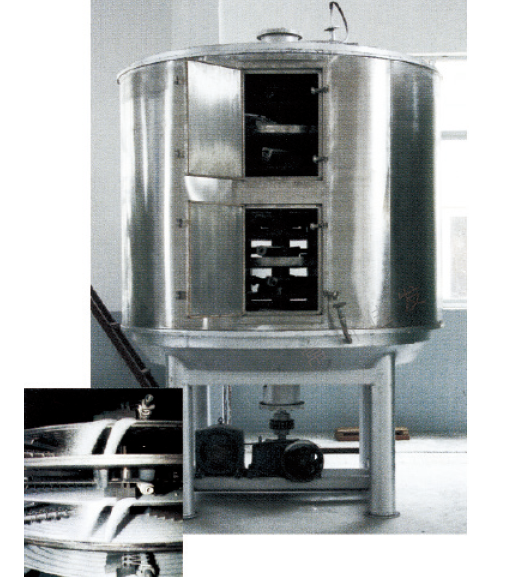 Continual Plate Chamber Drier Machine