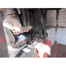 Formulato de sodio utilizado como catalizador y agente sintético en la industria del cuero