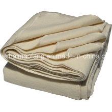 Manta de lana tejida 100% Virgen Nueva Hotel de lana