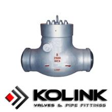 Válvula de retención de sello de presión, válvula de retención de oscilación de alta presión