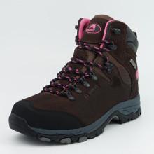Confort Trekking Deportes al aire libre Senderismo zapatos impermeables para las mujeres