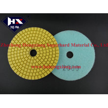 Smoothly Wet Flexible Diamond Polishing Pad for Marble and Stone