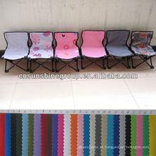 Cadeira dobrável sólida e colorida do acampamento