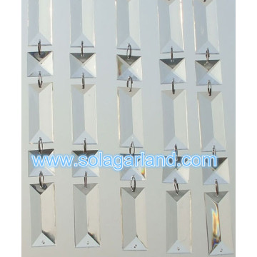 Acrylic Crystal Bead Garland Clear Hanging Bead Window Curtain