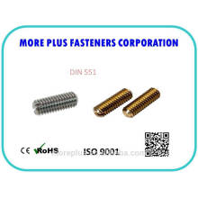 DIN551 with Chamfered Ende Slotted Set Screws