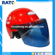 Hot sale summer red half face helmet motorcycle