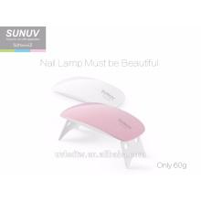 Fabrik SUNUV SUNMINI2 tragbare und faltbare LED-Gel-Nagellampe für persönlichen Nagel Schönheitssalon
