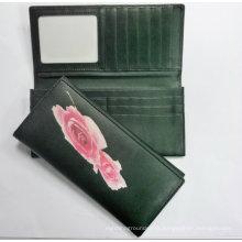 Lady′s Wallet Silkscreen Wallet Purse
