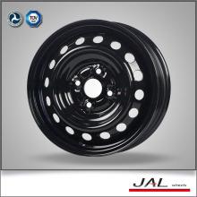 Brilhante rodas pretas 14x5 carro roda jante para venda