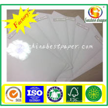 Papel de liberación de silicona 60g: para papel adhesivo