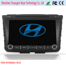Reproductor de DVD del coche para IX25 con GPS iPod Bluetooth TV