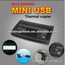 2016 heiße Verkauf kleine Mini-Tätowierung thermische Kopierer Maschine