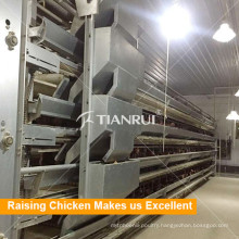 Battery Design Automatic Layer Egg Chicken Cage System