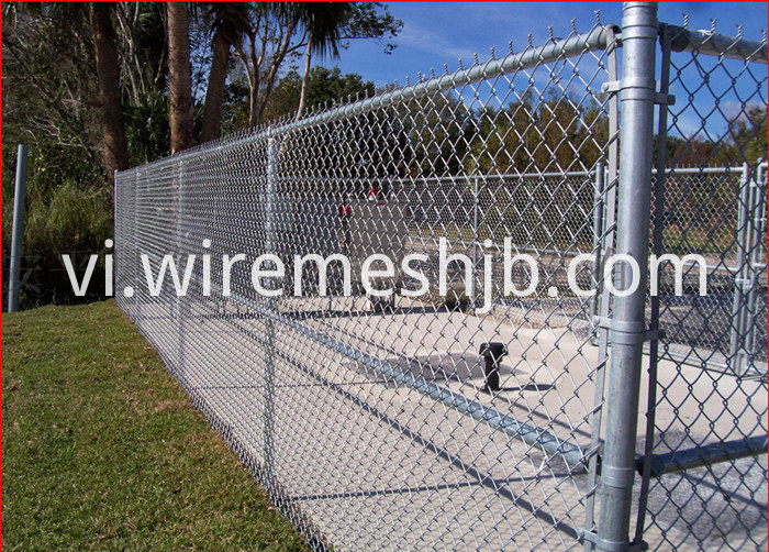 Chain Link Fabric Fencing