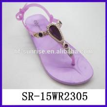 New fashion cheap PVC ladies sandals women sandals 2015 sandals for girls