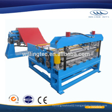 simple Plate leveling machine for cut to length line
