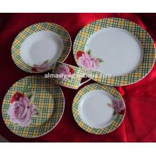 conjunto de jantar de luxo, vivendo conjunto de jantar de arte, conjunto de jantar feito na china