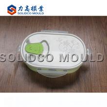 Fabricante plástico del molde de la caja de almuerzo de la inyección de la alta calidad