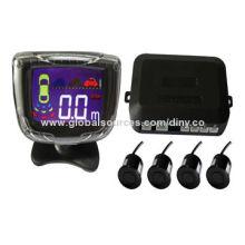 LCD parking sensor system, LCD digital display
