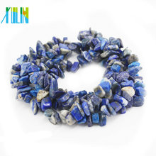 100% Natural Material Lapis Lazuli No Synthesis Gemstone Chips Strand