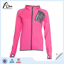 100 Polyester Running Coat Fashion Sports Jacket for Women